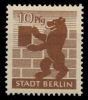 SBZ BERL. BRANDENB. Nr 4Aawaz postfrisch 8103E2