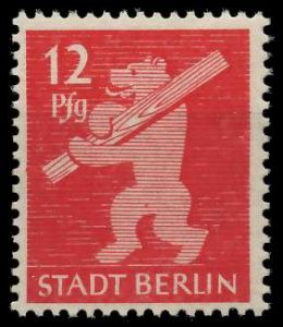 SBZ BERL. BRANDENB. Nr 5AAwbz postfrisch 81046A