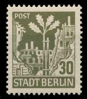 SBZ BERL. BRANDENB. Nr 7Aawbz postfrisch 8104CE