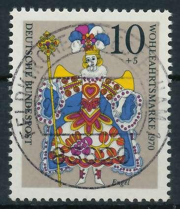 BRD 1970 Nr 655 zentrisch gestempelt 832F3E