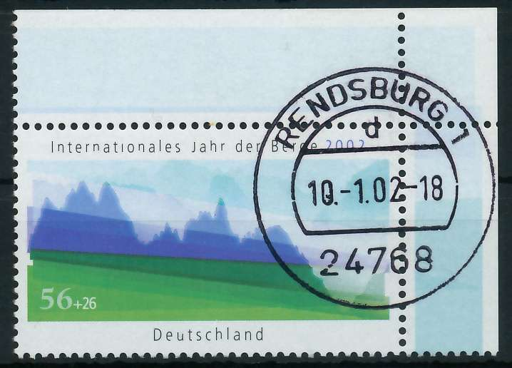 BRD 2002 Nr 2231 zentrisch gestempelt ECKE-ORE 84D0C6