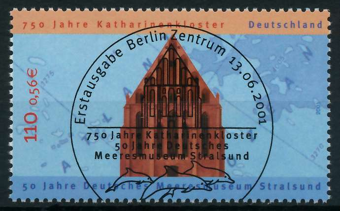 BRD 2001 Nr 2195 ESST zentrisch gestempelt 84D4C6