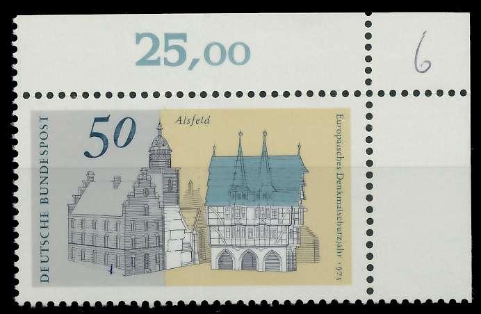 BRD 1975 Nr 860 postfrisch ECKE-ORE 851266