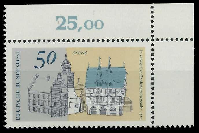 BRD 1975 Nr 860 postfrisch ECKE-ORE 851282
