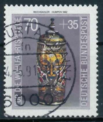 BRD 1986 Nr 1297 gestempelt 85463E