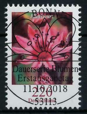 BRD DS BLUMEN Nr 3414 ESST zentrisch gestempelt 85A59A