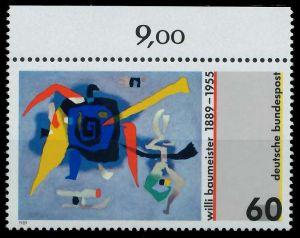BRD 1989 Nr 1403 postfrisch ORA 85A83A