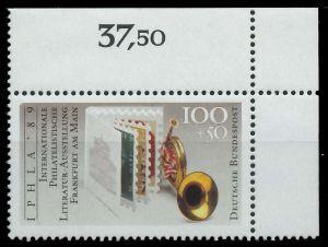 BRD 1989 Nr 1415 postfrisch ECKE-ORE S75D8E6