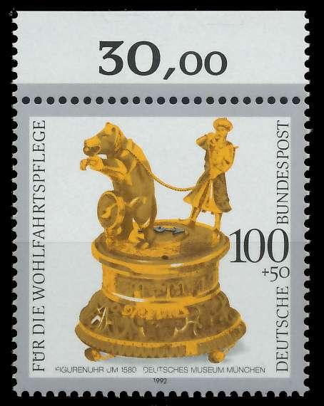BRD 1992 Nr 1634 postfrisch ORA 863436