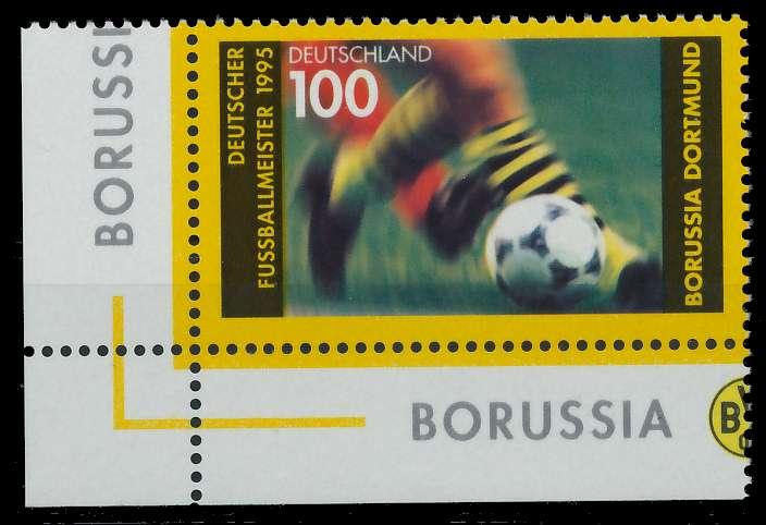 BRD 1995 Nr 1833 postfrisch ECKE-ULI 86757A