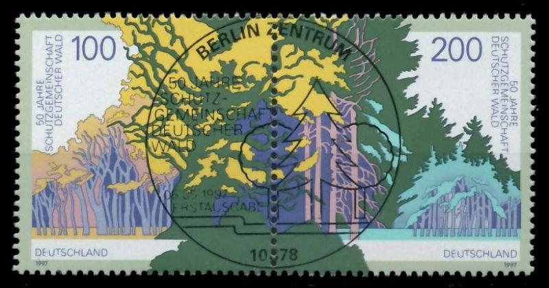 BRD ZUSAMMENDRUCK Nr 1918+1920 ESST zentrisch gestempelt WAA 868D6E