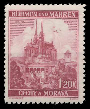 BÖHMEN MÄHREN 1939-1940 Nr 29 postfrisch 8284CE