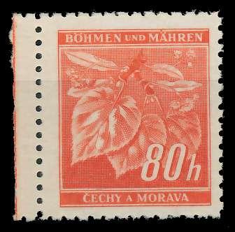 BÖHMEN MÄHREN 1941 Nr 66a postfrisch 82870E