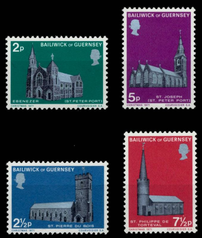 GUERNSEY 1971 Nr 58-61 postfrisch S019C82