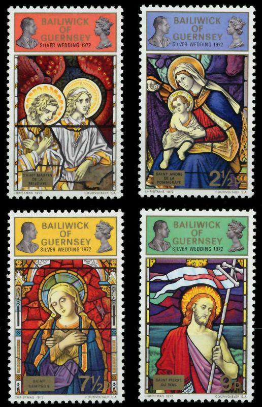 GUERNSEY 1972 Nr 71-74 postfrisch S019CDA