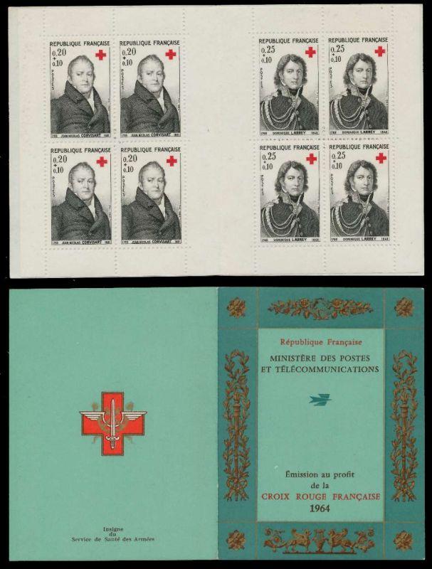 FRANKREICH MARKENHEFTCHEN Nr MH 1494-1495 postfrisch S01A632