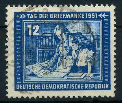 DDR 1951 Nr 295 gestempelt 87381E