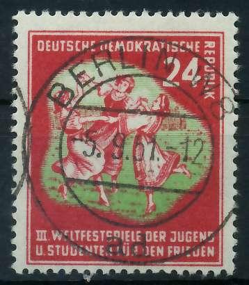 DDR 1951 Nr 290 zentrisch gestempelt 873822