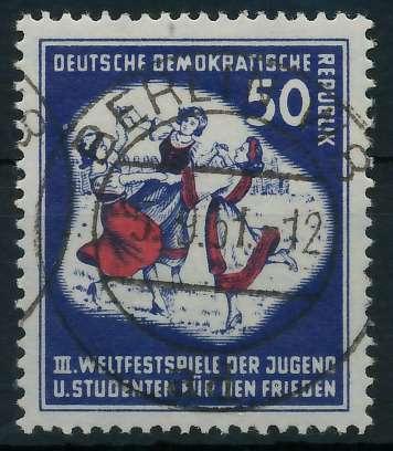 DDR 1951 Nr 292 zentrisch gestempelt 873832