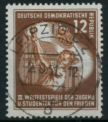 DDR 1951 Nr 289 zentrisch gestempelt 873836