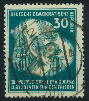 DDR 1951 Nr 291 zentrisch gestempelt 87383A