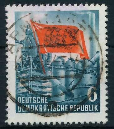 DDR 1953 Nr 344YII zentrisch gestempelt 873846