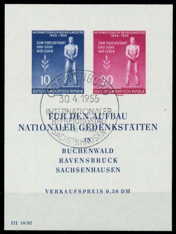 DDR BLOCK KLEINBOGEN Block 11-SOST 873856