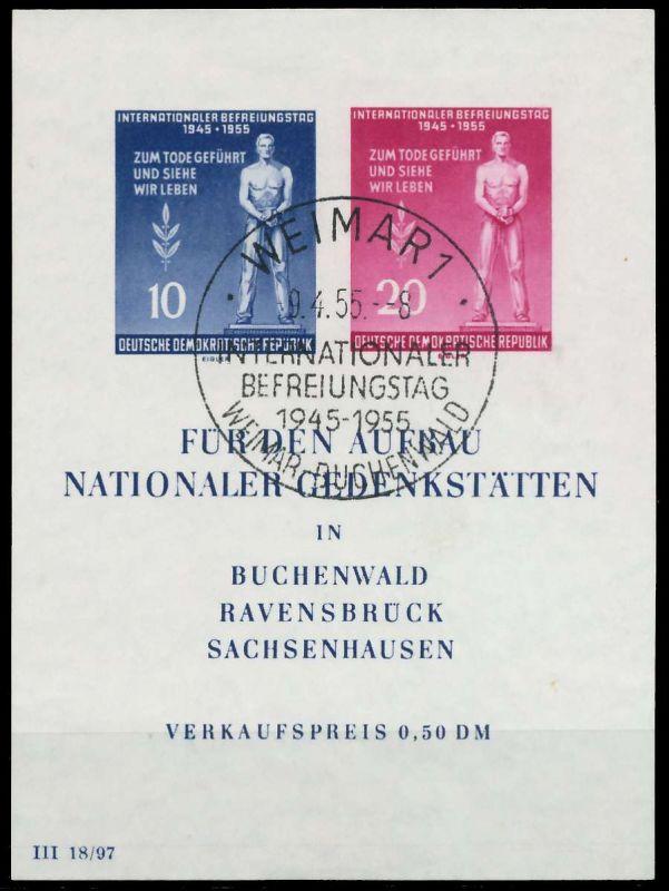 DDR BLOCK KLEINBOGEN Block 11-SOST 87385A
