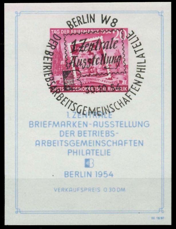 DDR BLOCK KLEINBOGEN Block 10XII SOST 87385E
