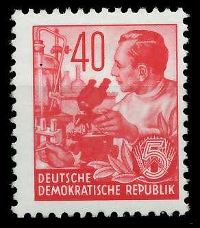 DDR 1953 Nr 375XII postfrisch 873862