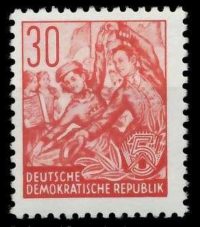 DDR 1953 Nr 373XII postfrisch 873866