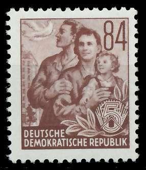 DDR 1953 Nr 379XI postfrisch 87386E