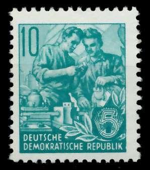 DDR 1953 Nr 366XII postfrisch 873872