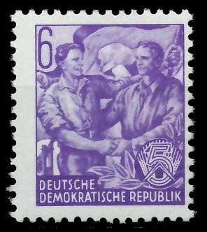 DDR 1953 Nr 364XII postfrisch 875836