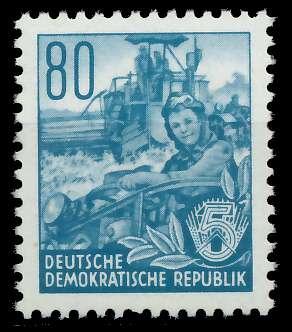 DDR 1953 Nr 378XII postfrisch 87583A