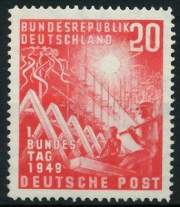 BRD 1949 Nr 112 ungebraucht 875C0E