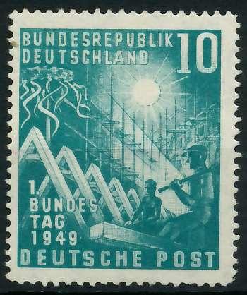 BRD 1949 Nr 111 ungebraucht 875C3A