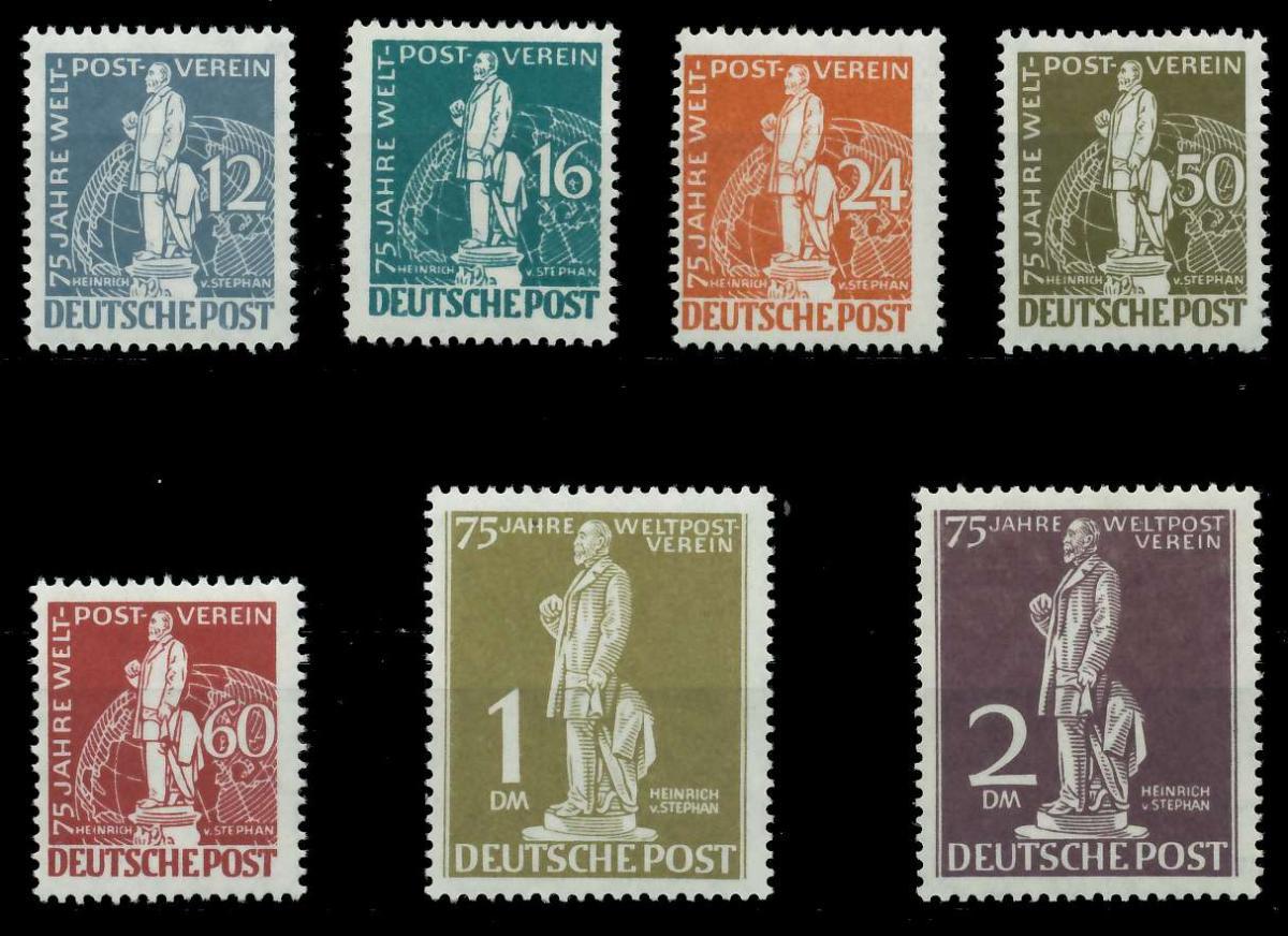 BERLIN 1949 Nr 35-41 postfrisch ATTEST 875E96