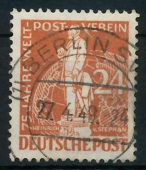 BERLIN 1949 Nr 37 zentrisch gestempelt 875EAA