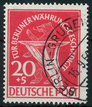 BERLIN 1949 Nr 69 gestempelt 875EC6