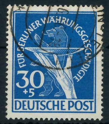 BERLIN 1949 Nr 70 gestempelt 875ECE