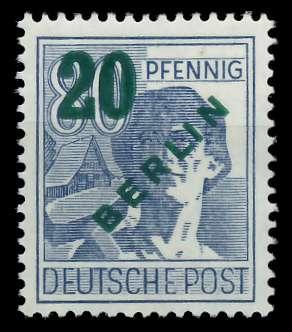 BERLIN 1949 Nr 66 postfrisch 875EFA