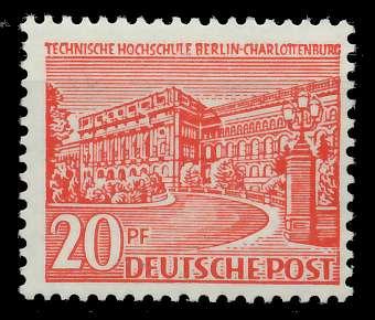 BERLIN DS BAUTEN 1 Nr 49 postfrisch 875F0E