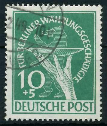 BERLIN 1949 Nr 68 gestempelt 875FB6