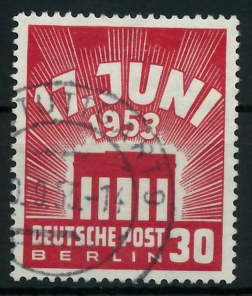 BERLIN 1953 Nr 111 gestempelt 87788A