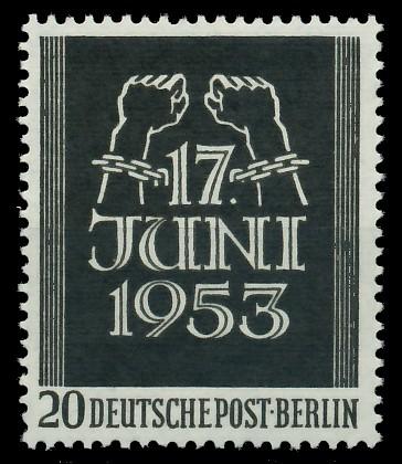 BERLIN 1953 Nr 110 postfrisch 87788E