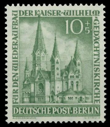 BERLIN 1953 Nr 107 postfrisch 87789A