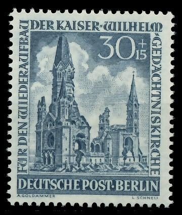 BERLIN 1953 Nr 109 postfrisch 8778A2