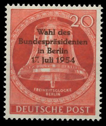 BERLIN 1954 Nr 118 postfrisch 8778A6
