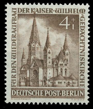 BERLIN 1953 Nr 106 postfrisch 8778AA
